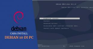 CARA INSTALL DEBIAN 10 DI PC