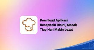 Download Aplikasi ResepKoki