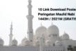 Download Poster Maulid Nabi 2021