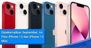 iPhone 13 dan iPhone 13 Mini Indonesia September